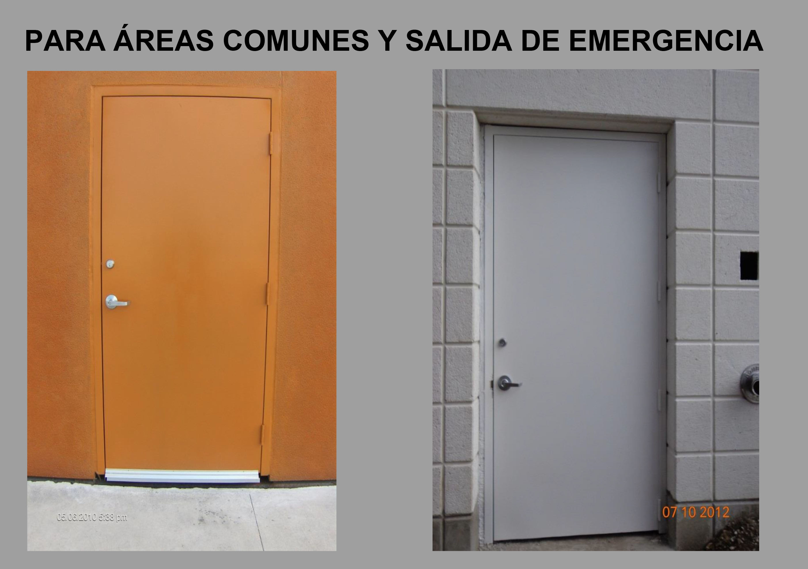 Inicio for Precio de puertas salida de emergencia